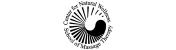 Center for Natural Wellness School of Massage Therapy logo